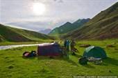 Лагерь у реки