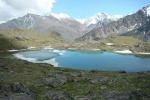 одно из семи озер на вершинах