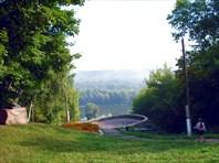 Новгород-Северский. Вид от монастыря.
