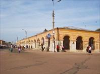 Новгород-Северский. Торговые ряды.