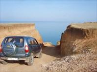 Спуск у Берегового.