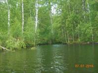 Река Вохта. 6 км - 6 часов