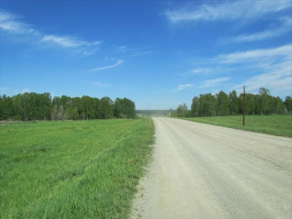 Дорога в Новососедово