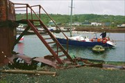 Парковка в яхт-клубе