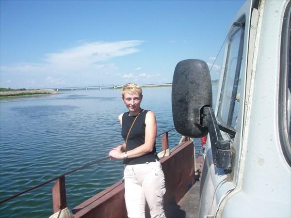 Переправа через реку Томь