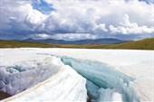 Лёд на реке Музды-Булак