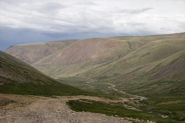Дорога на Калгутинский рудник
