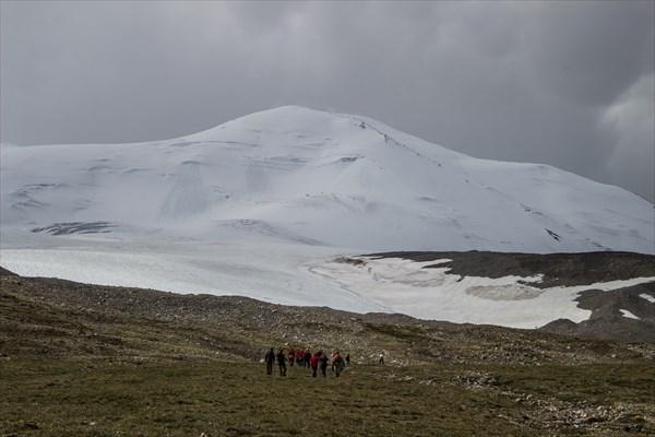 Тован-Богдо-Ула. Ледник группы Аргамджи