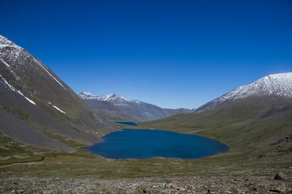 Перевал Ажу. Озёра Джанкель и Атаккель