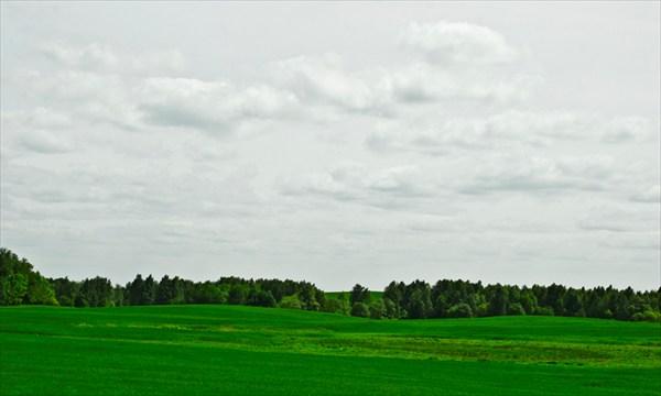 Просто поле. Германия
