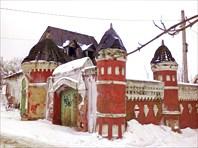 Волоколамск, палаты напротив Кремля