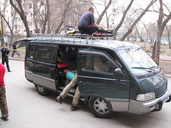Грузимся в транспорт