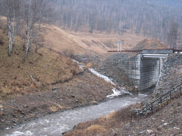 Мост через р. Улус-черга
