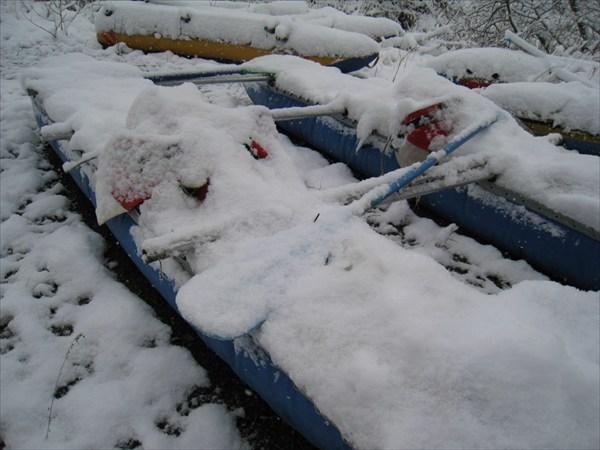 Каты под снегом