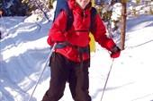 Наташа на лыжах