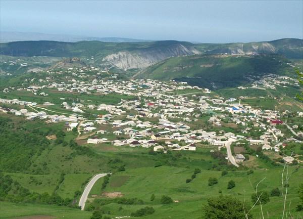 Cело Карамахи с перевала
