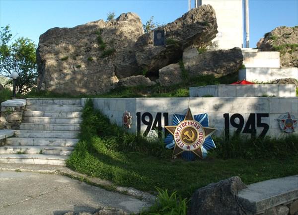 Мемориал в честь жителей Гуниба - участников ВОВ - 2