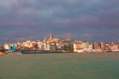 Залив Золотой Рог и башня Галата