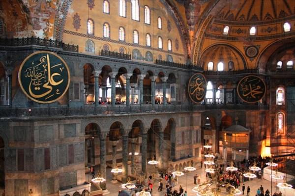 Внутри собора Св.Софии