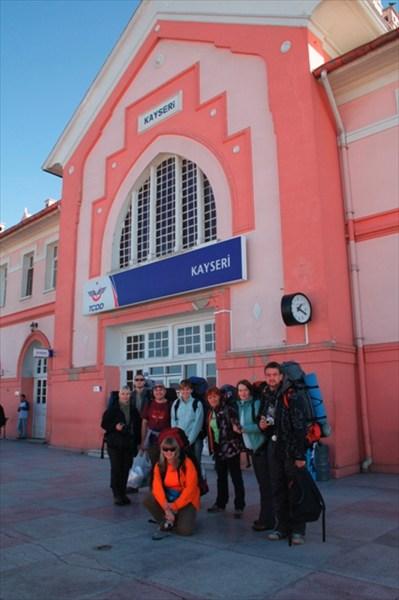 Вокзал в Кайсери