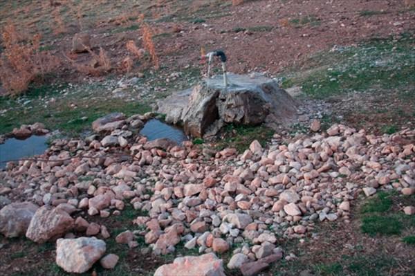 Водопровод в горах