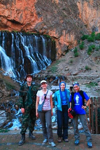 Мы у водопадов Капузбаши