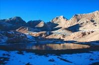 Предпоследнее озеро плато Ёдигёль в направлении к долине р.Аджир