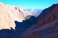 Вид на долину р.Аджир и начало лесного участка
