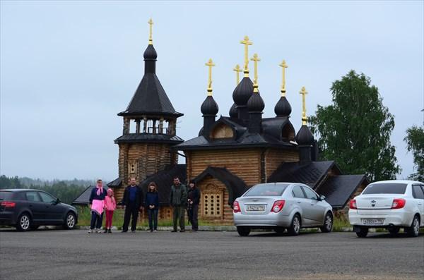 Церковь по дороге в Меркушино