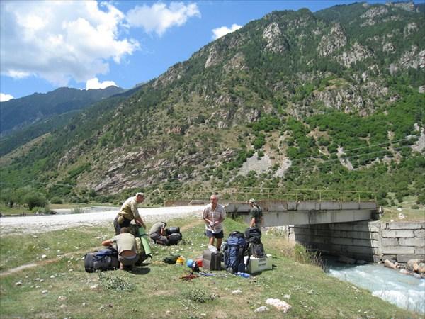 Учкулан. Мост на выезде из поселка