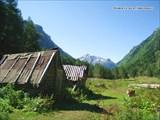 Кош в долине р.Гондарай у устья р.Джалпакол