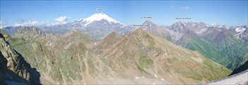 Вид с перевала Беляева на восток