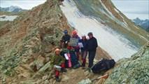 Группа на перевале Сев.Джалпакол 1А