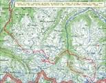 Карта с треком маршрута