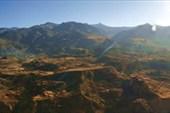 Панорама каньона Colca