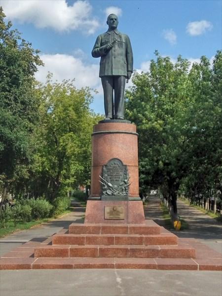 Памятник Дегтяреву