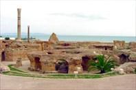 Carthage-Руины древнего города Карфаген
