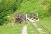 УЖД и мост через ручей