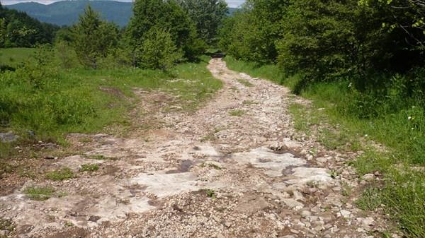 Дорога на Мезмай