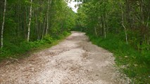Дорога на Мезмай. 10 километровый спуск по камням