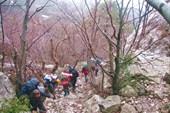 Подъем на перевал Шайтан-Мердвень