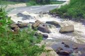 Плотина в Нейво-Шайтанске (боковой слив)
