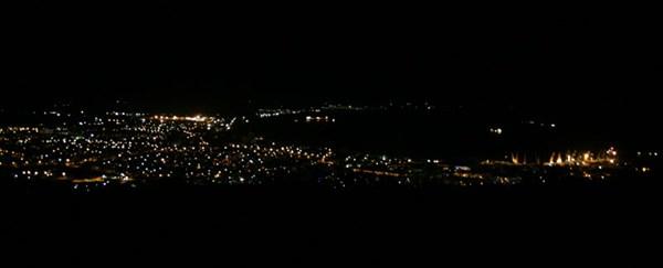 Ночёвка с видом на Феодосию