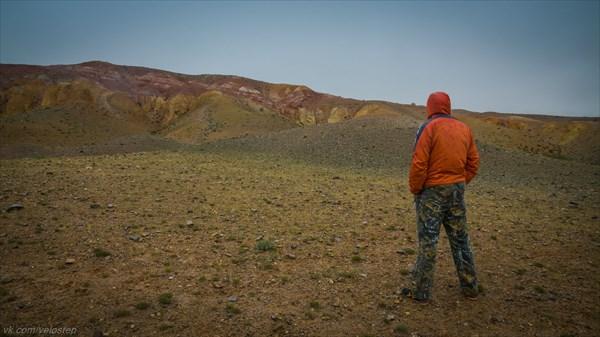 Марсианские пейзажи Чаган-Узуна.