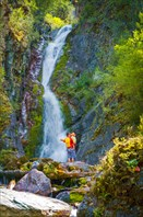 Водопад на р.Верх-Карасу.
