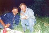 Два друга: Бабаев Олег и Ник. Шестерин