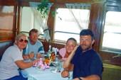 Команда `Волга-1998`. Домой на теплоходе.