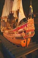 Корабль Васа в миниатюре