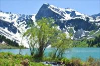 Верхне-Мультинское озеро (открытки отдыхают)