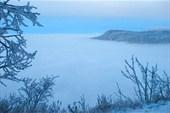 Вдали - гора Бойка